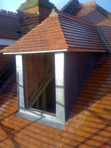 Lead Work Dormer in Putney